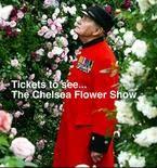 advert for Chelsea Flower Show
